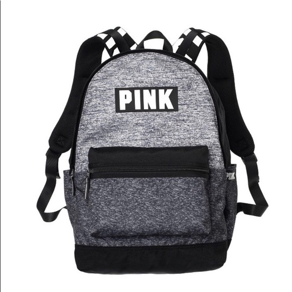 2402412a43 New Victoria s Secret Pink Campus Backpack Gray